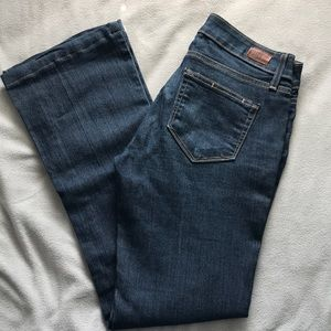PAIGE jeans in 25. Skyline bootcut.